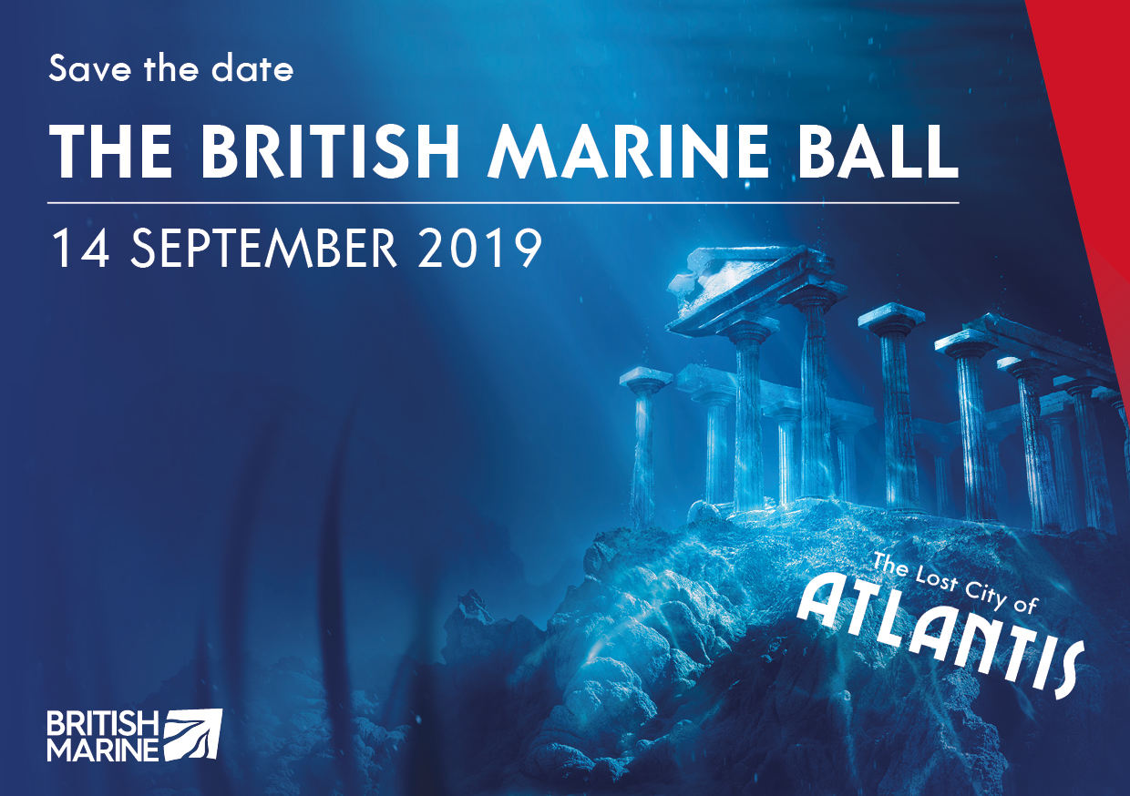 British Marine Ball 2019 - The Lost City of Atlantis