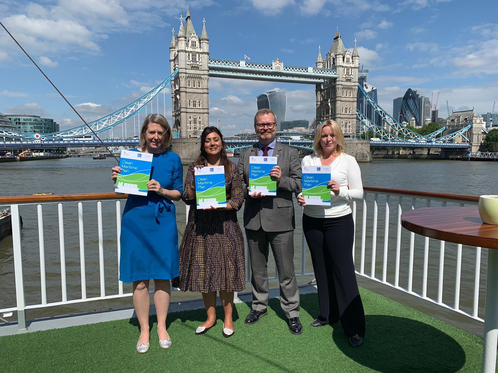 UK Government releases Clean Maritime Plan, setting maritime zero-emission travel strategy