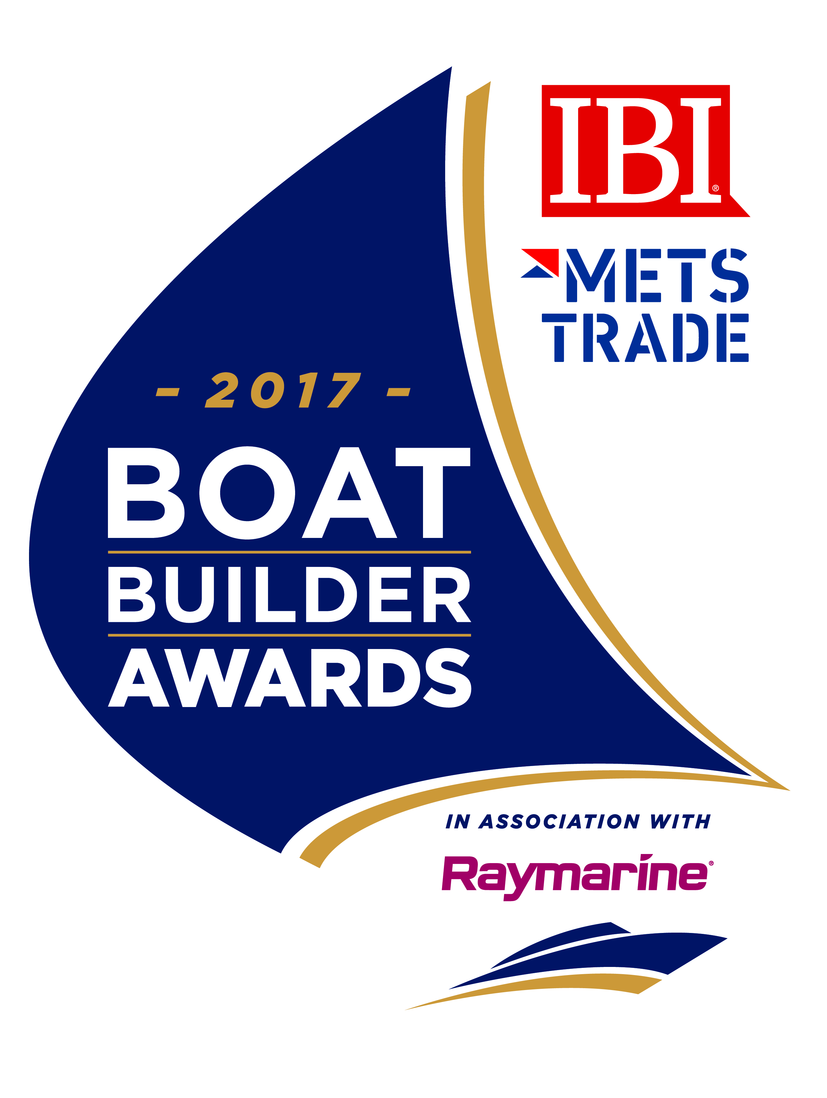 2017 Boat Builder Award logo