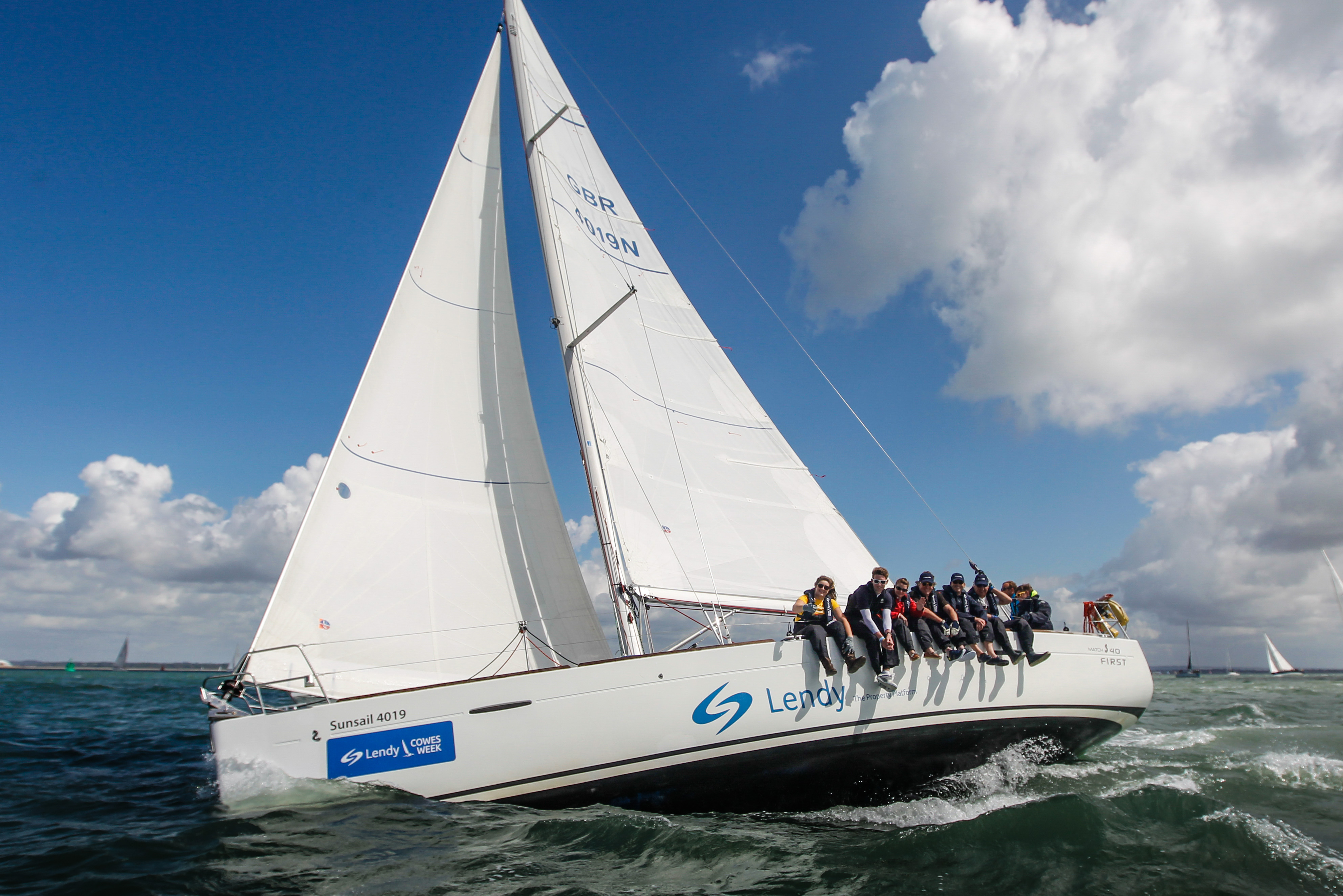 Sunsail at Lendy Cowes Week