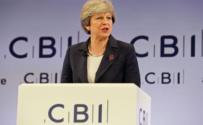 Prime Minister Theresa May at CBI Annual Conference 2017