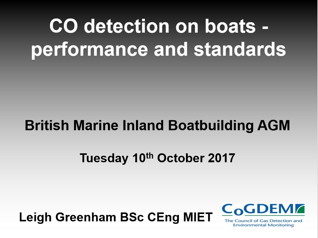 CO Detection on Boats