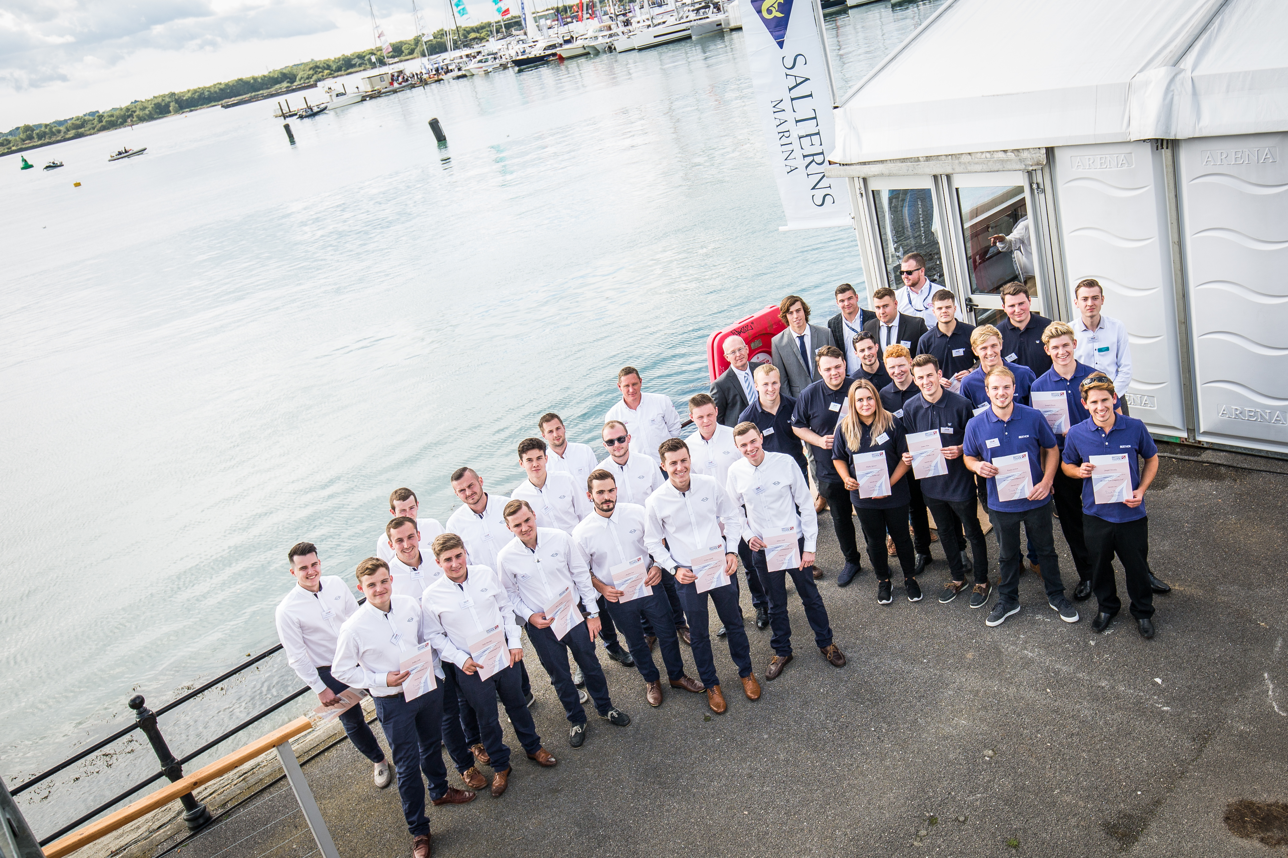 British Marine Apprenticeship Graduation 2019