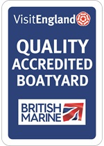 Visit England Quality Accredited Boatyard