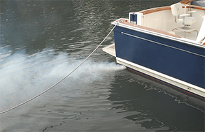 Boat exhaust