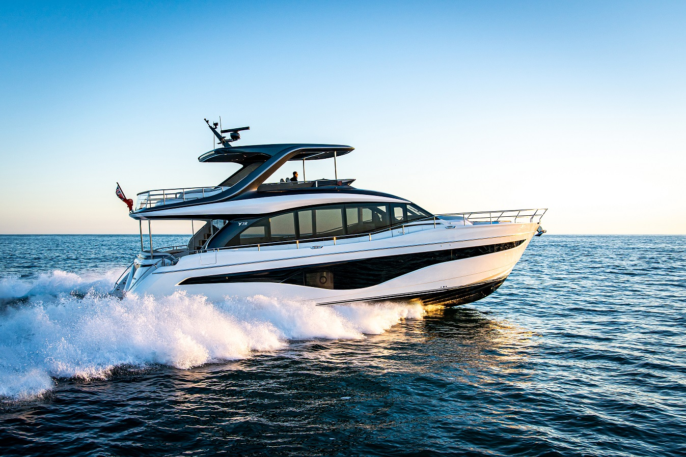 Princess Yachts announces the launch of the all-new Y72 Flybridge Motor Yacht